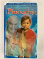 The Adventures of Pinocchio (VHS, 1996, Clamshell) FREE SHIP