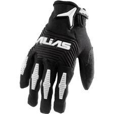 Guantes de motocross negros de palma