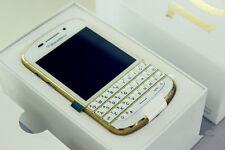 Brand New BlackBerry Q10 Gold 16GB 8MP 4G LTE Unlocked free shipping