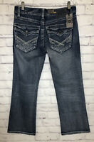 T.K. Axel Weston Vintage Boot Distressed Blue Jeans Size 32x30 New W Tag
