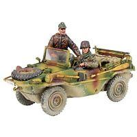 BRITAINS SOLDIERS 25051 - German Type 166 Schwimmwagen & Crew WW2