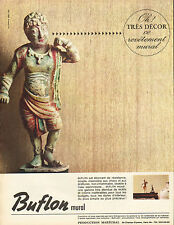 Publicité 1965  Buflon revetement mural