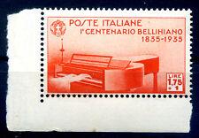 REGNO 1935 - BELLINI    Lire 1,75 + 1   NUOVO **  LUSSO