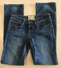 American Rag Cie Boot Jeans Slim Modern Cut Women's 5R 30x32 Juniors Blue CUTE!
