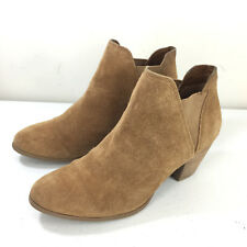 Guess 6 Brown Suede Leather Ankle Boots Booties Cute