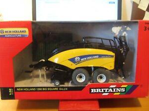Britains 42977 New Holland 1290 Big Square Baler, 1:32, BNIB
