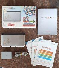 Nintendo 3DS XL Mario and Luigi With +3000 Games 3DS DS Nes Atari Snes Atari