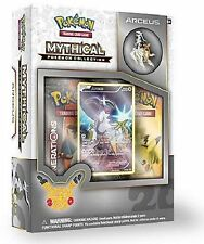 Pokemon Cards Lot Arceus Mythical Collection 20th Anniversary Pin Box