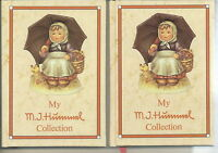 AF-073 - Two My M.J. Hummel Collection Books Vintage 1985 Versions