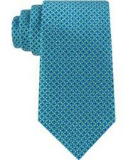 $185 MICHAEL KORS Men`s GREEN YELLOW CHECK NECK TIE SKINNY DRESS NECKTIE 60x3.25