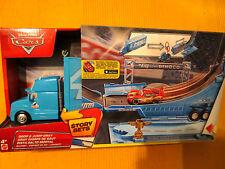 Disney Pixar Cars King Dinoco Hauler LKW Truck Story Spielset NEU