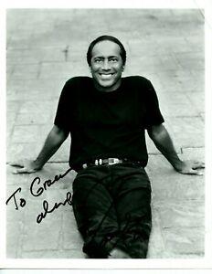 Autographié 8 x 10 Photo Legendary Singer Auteur-Compositeur Paul Anka