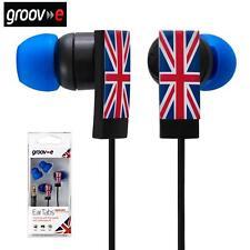 Groov-e Union Jack Ear Pestañas / auriculares / auriculares