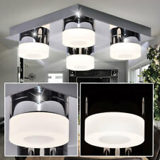 Design LED Decken Lampe Schlaf Gäste Zimmer Strahler Spot Leuchte Chrom WOFI