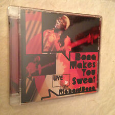 RICHARD BONA CD BONA MAKES YOU SWEAT LIVE 0600753054628 2008 JAZZ