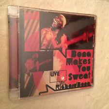 RICHARD BONA CD BONA MAKES YOU SWEAT LIVE 0600753054628 2008 JAZZ
