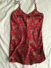 Silky SATIN Nightgown Slip Chemise Nighty LARGE L Vtg Romantic Moods