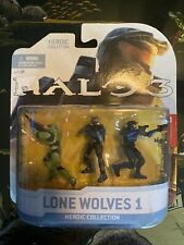 McFarlane Halo 3 The Heroic Collection Mini Action Figures 2009 Lone Wolves 1