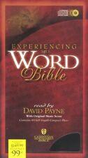 New Audio Bible - 64 Cds! Experiencing the Word Hcsb, Holman Csb (David Payne)