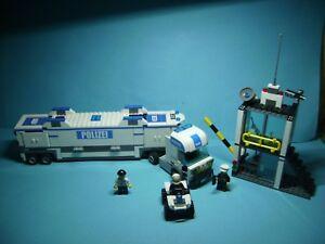 Lego 7743 Polizei Überwachungswagen mit OVP und Original BA