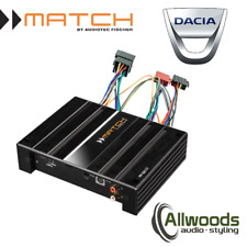 Match Amp and harness Package PP62DSP + FREE PP-AC Harness Cable Dacia