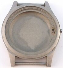 Vintage Hamilton Military Stainless Steel Wristwatch Case.