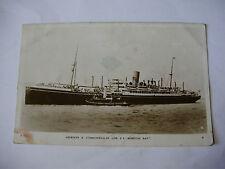 E112 - ABERDEEN & COMMONWEALTH LINE - SS MORETON BAY Postcard