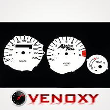 Honda XRV 750 Africa Twin 92-03 TRIP UNIQUE Fond de Compteur BLANC