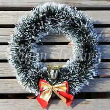 Christmas Garland Tinsel, Xmas Gift Tree Hanging Decoration Green Sale