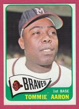 1965 Topps # 567 Tommie Aaron - Milwaukee Braves -- Box 722-267