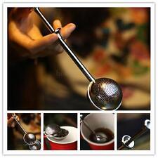 Ball Shape Push Style Tea Infuser Strainer