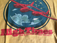 High Times early1970's original authentic vintage T-shirt