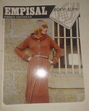 Knitting Machine Pattern Book AUP8 - Empisal Ribbed Knitwear