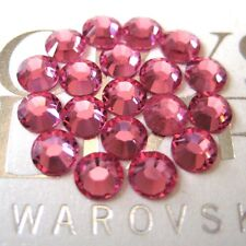 144 Swarovski Rhinestones Crystal Flatback 16ss ROSE # 2058 Xilion Rose Enhanced