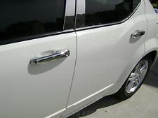 2011 2012 Dodge Avenger chrome door handle covers trim with smart key