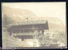 PHOTO ANCIENNE VERS 1885/1890 .. St-Beatenberg .. SUISSE ..