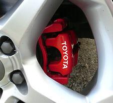 Toyota Brake Caliper Decals Stickers Auris Aygo Yaris Avensis Corolla GT86 Vitz