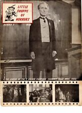 WoW! Little Shoppe Of Horrors #3 Lon Chaney Jr. Tribute! Vincent Price Interview