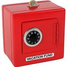 Metal Safe With Combination Lock Locking Money Box Savings Kids Piggy Bank 2187