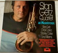 STAN GETZ QUARTET AT MONTREUX~Pre-Owned LP 2310549..... PLAYED ONCE