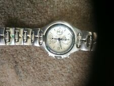 Seiko Alarm Chronograph. 7T62-0BC0. Gents watch. Rare great blue, silver dial.