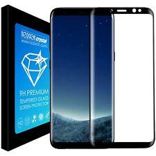 Proteggi Schermo totale Vetro Temperato curvo Samsung Note 8 Edge Pellicola 3d 01 - Nero
