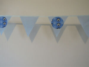 Man City banner F A Cup/Champions league Football Bunting Party Bedroom