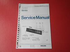 Philips Clockradio 90RS455 org. Service Anleitung Manual