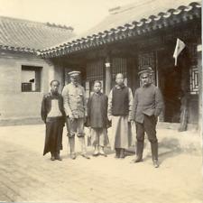 Chine, China, soldats Allemands et Chinois, territoires colonisés, guerre Sino-j