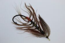 Black King Size 8/0 Vintage Gut Eye Salmon Fly date about 1900-10