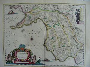 MAPPA PRINCIPATO CITRA SALERNO 1640 AMALFI NOCERA ANGRI NAPOLI FIUME SARNO