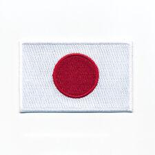 30 x 20 mm Japan Flagge Flag Nihon Nippon Tokio Aufbügler Aufnäher 0931 Mini