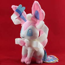 "Pokemon Sylveon Fairy Eevee 10"" Stuffed Animal Nintendo Cuddly Plush Toy Doll"