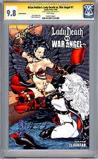 LADY DEATH vs WAR ANGEL #1 CGC-SS 9.8 *LTD ED 5000* SIG BRIAN PULIDO AVATAR 2006